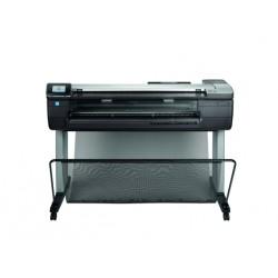 HP - Designjet T830 24-in impresora de gran formato Color 2400 x 1200 DPI Inyección de tinta Wifi