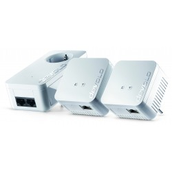 Devolo - dLAN 550 WiFi Network Kit PLC 500 Mbit/s Ethernet Blanco 3 pieza(s)