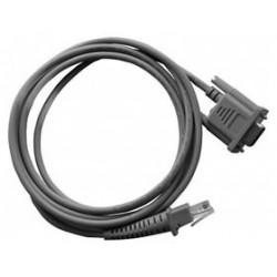 Datalogic - 90G000008 1.8m RS-232 RJ-45 Gris cable de serie