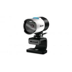 Microsoft - LifeCam Studio 1920 x 1080Pixeles USB 2.0 Negro, Plata cámara web