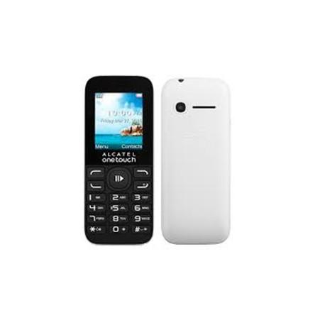 "Alcatel - 1050D 1.8"" 63g Negro, Blanco Teléfono básico"