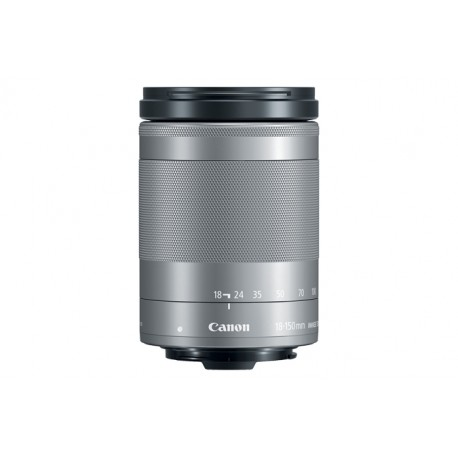 Canon - EF-M 18-150mm f/3.5-6.3 IS STM MILC Plata