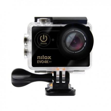 """Nilox - EVO 4K S+ 16MP 4K Ultra HD 1/3"""" CMOS Wifi 61g cámara para deporte de acción"""
