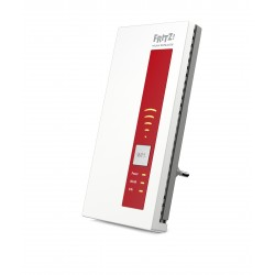 AVM - FRITZ!WLAN Repeater 1160 866 Mbit/s Rojo, Blanco