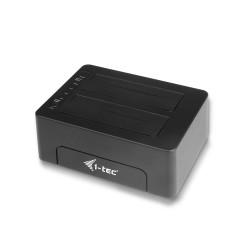 "i-tec - USB 3.0 Docking Station para discos duros de 2.5""/3.5"" SATA I/II/III HDD SSD"