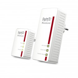 AVM - FRITZ!Powerline 540E WLAN Set International 500 Mbit/s Ethernet Wifi Blanco 2 pieza(s)