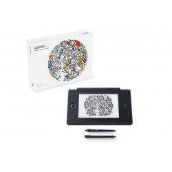 Wacom - Intuos Pro Paper Edition M South tableta digitalizadora Negro 5080 líneas por pulgada 224 x 148 mm USB/Bluetooth