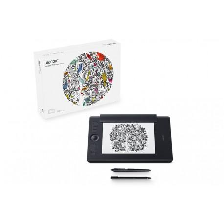 Wacom - Intuos Pro Paper Edition M South 5080líneas por pulgada 224 x 148mm USB/Bluetooth Negro tableta digitalizad