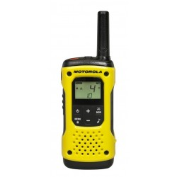 Motorola - TLKR T92 H2O two-way radios 8 canales Negro, Amarillo