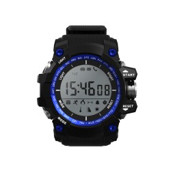 "Leotec - Blue Mountain 1.1"" LCD Negro, Azul reloj inteligente"