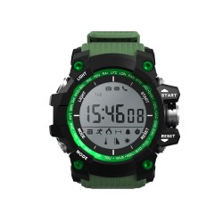 "Leotec - Green Mountain 1.1"" LCD Negro, Verde reloj inteligente"