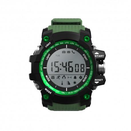 Leotec - Green Mountain 11 LCD Negro Verde reloj inteligente