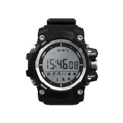 "Leotec - Black Mountain reloj inteligente Negro LCD 2,79 cm (1.1"")"