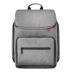 """Mobilis - 025008 maletines para portátil 40,6 cm (16"""") Mochila Gris"""