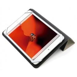 "CoolBox - ACTCOOFUN78 funda para tablet 20,3 cm (8"") Folio Negro, Gris"