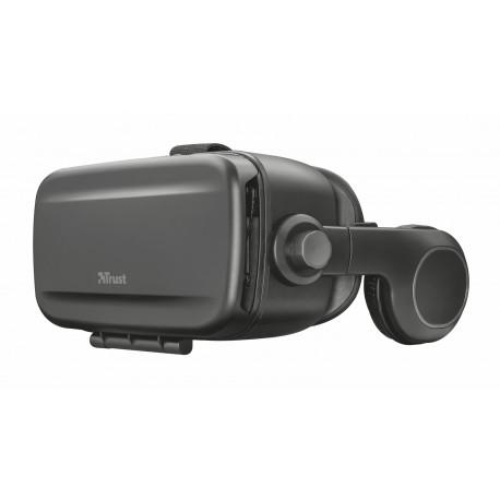 Trust - Exora Virtual Reality Glasses for Smartphone Gafas de realidad virtual 430g Negro