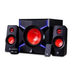 Woxter - SO26-054 Home audio midi system 150W Negro, Rojo sistema de audio para el hogar
