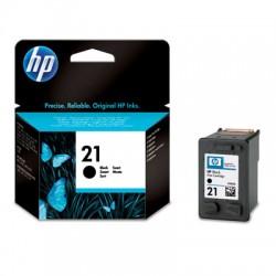 HP - 21 cartucho de tinta Original Rendimiento estándar Negro