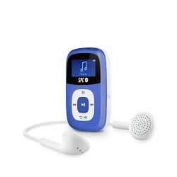 SPC - Sparrow Reproductor de MP3 4GB Azul