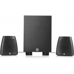 HP - 400 2.1canales 8W Negro conjunto de altavoces