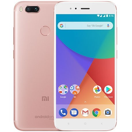 Xiaomi - Mi A1 SIM doble 4G 64GB Oro rosado, Blanco