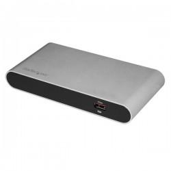StarTech.com - Docking Station Thunderbolt 3 a USB 3.1 con USB-C USB-A y Thunderbolt 3 - Replicador de Puertos con Hub Ladrón US