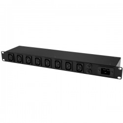 StarTech.com - PDU de 8 Puertos C13 para Montaje en Rack - 16 Amperios 1U y Cable de 3m CEE7/7