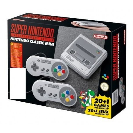 Nintendo - Classic Mini: Super Entertainment System Gris