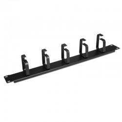 Nanocable - 10.21.4105 Estante Cable holder Negro organizador de cables