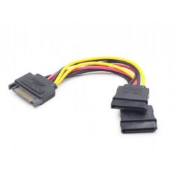 Gembird - CC-SATAM2F-01 cable de SATA 0,15 m Multicolor