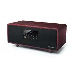 Muse - M-630 DWT Home audio mini system 40W Negro, Rojo sistema de audio para el hogar