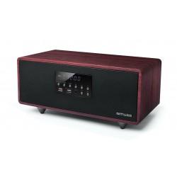 Muse - M-630 DWT sistema de audio para el hogar Minicadena de música para uso doméstico Negro, Rojo 40 W