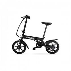 "Nilox - DOC E-bike X2 Negro Acero 40,6 cm (16"") 20,5 kg"