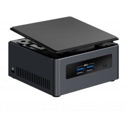 Intel - NUC BLKNUC7I3DNH2E PC/estación de trabajo barebone i3-7100U 2,40 GHz UCFF Negro BGA 1356