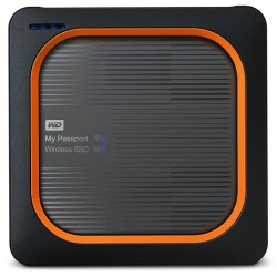 Western Digital - My Passport 500 GB Wifi Gris, Naranja