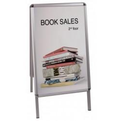 Bi-Office - Poster Frame Aluminio Plata