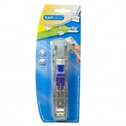 Rapesco - Supaclip 60 Transparente De plástico dispensador de clips