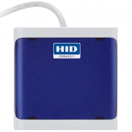 HID Identity - OMNIKEY 5022 Interior USB 2.0 Azul lector de tarjeta inteligente - 22199906