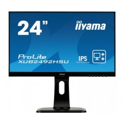 "iiyama - ProLite XUB2492HSU-B1 LED display 60,5 cm (23.8"") 1920 x 1080 Pixeles Full HD Negro"