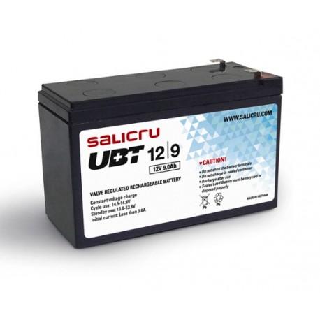 Salicru - UBT 12/9 Batería AGM recargable de 9 Ah / 12 V