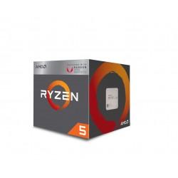 AMD - Ryzen 5 2400G procesador 3,6 GHz Caja 2 MB L2