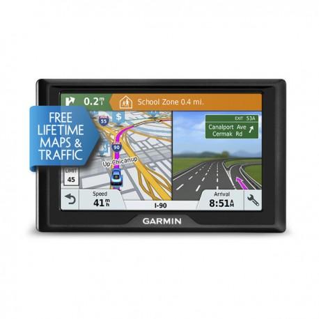 "Garmin - Drive 61 LMT-S Fijo 6.1"" TFT Pantalla táctil 241g Negro navegador"