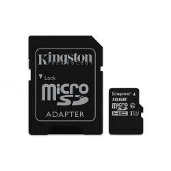 Kingston Technology - Canvas Select memoria flash 16 GB MicroSDHC Clase 10 UHS-I - 22220269