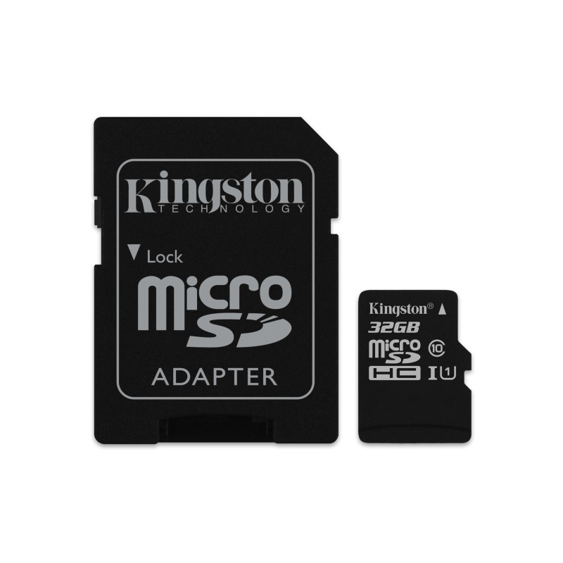 Kingston Technology - Canvas Select 32GB MicroSD UHS-I Clase 10 memoria flash