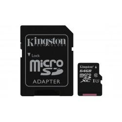 Kingston Technology - Canvas Select memoria flash 64 GB MicroSDXC Clase 10 UHS-I