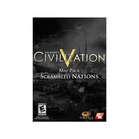 2K - Sid Meier's Civilization V: Scrambled Nations Map Pack PC/Mac