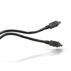 Conceptronic - FireWire Cable 4-p 1.8m Negro 1,8 m