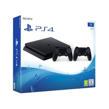 Sony - PlayStation 4 + Dualshock 4 1000GB Wifi Negro