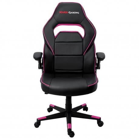 Mars Gaming - MGC117 Asiento acolchado Respaldo acolchado silla de oficina y de ordenador - 22143621