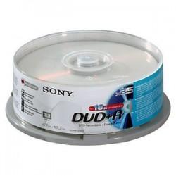Sony - DVD+R 16x, 25 4,7 GB 25 pieza(s)